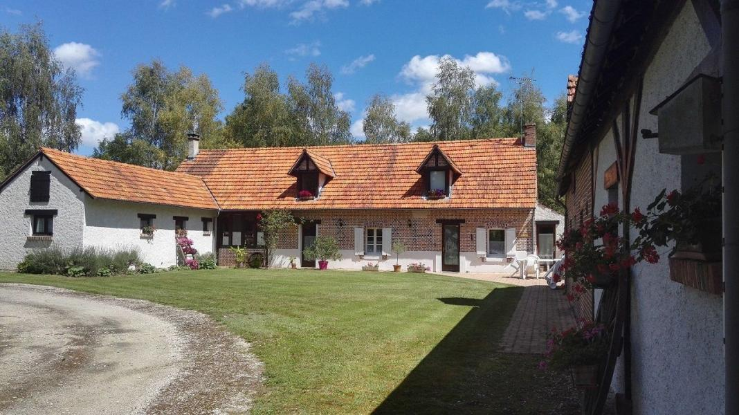 Vue extérieure gite Sabulonia et chambres d'hôtes