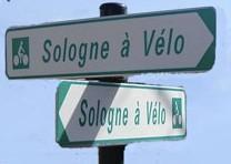 Accès carte Sologne à Vélo