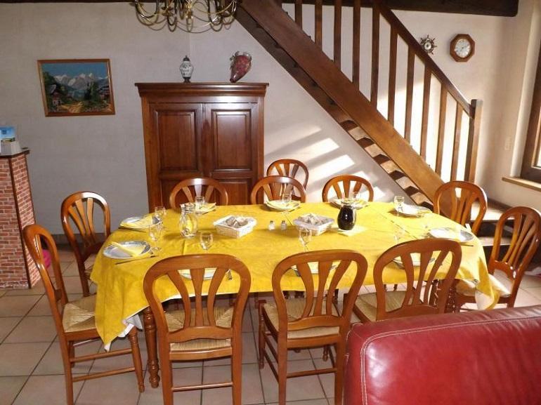 notre table d'hôtes