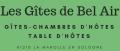 Location de Gîtes ruraux, Chambres & Table d'hôtes en Sologne - Les Gîtes de Bel Air